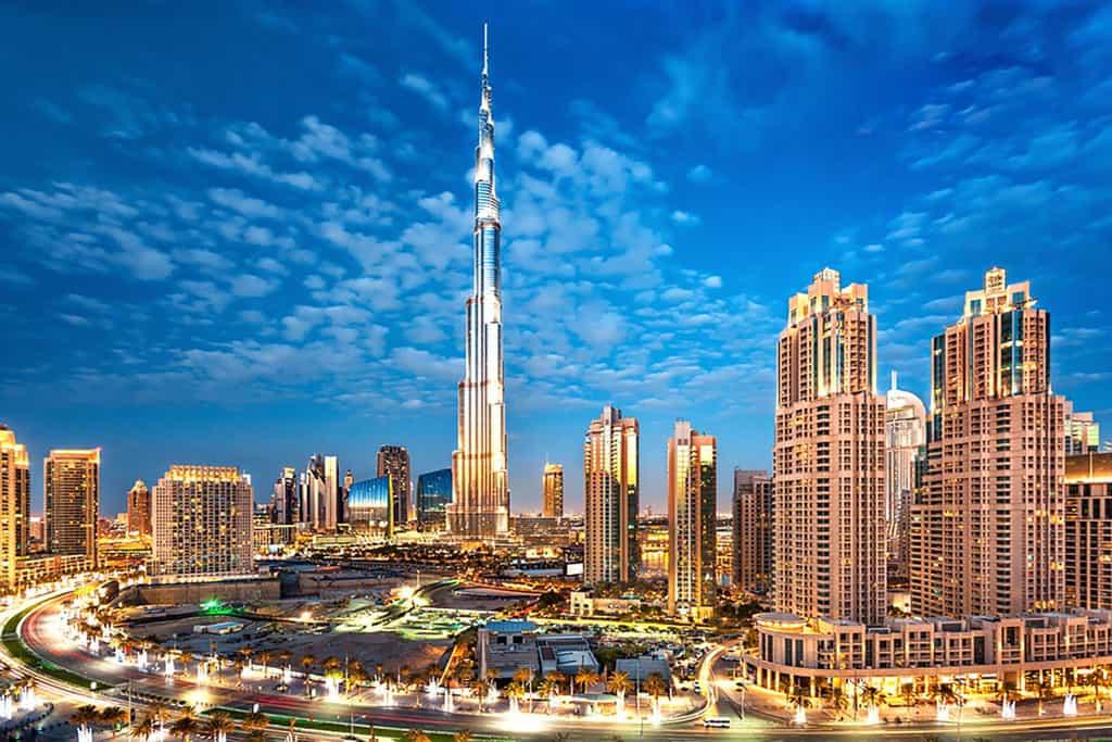برج خلیفه بلند ترین برج جهان