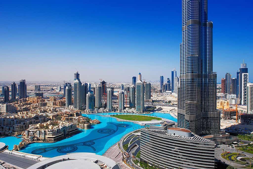 برج خلیفه در تور گردشگری دبی
